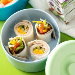 Turkey Ranch Wraps