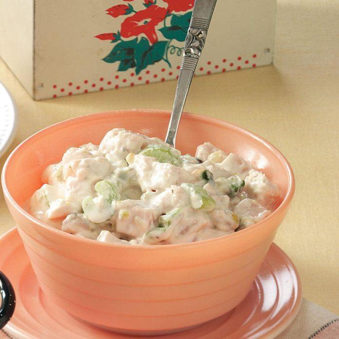 Turkey Salad with Pistachios