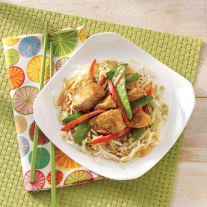 Turkey Stir-Fry with Cabbage