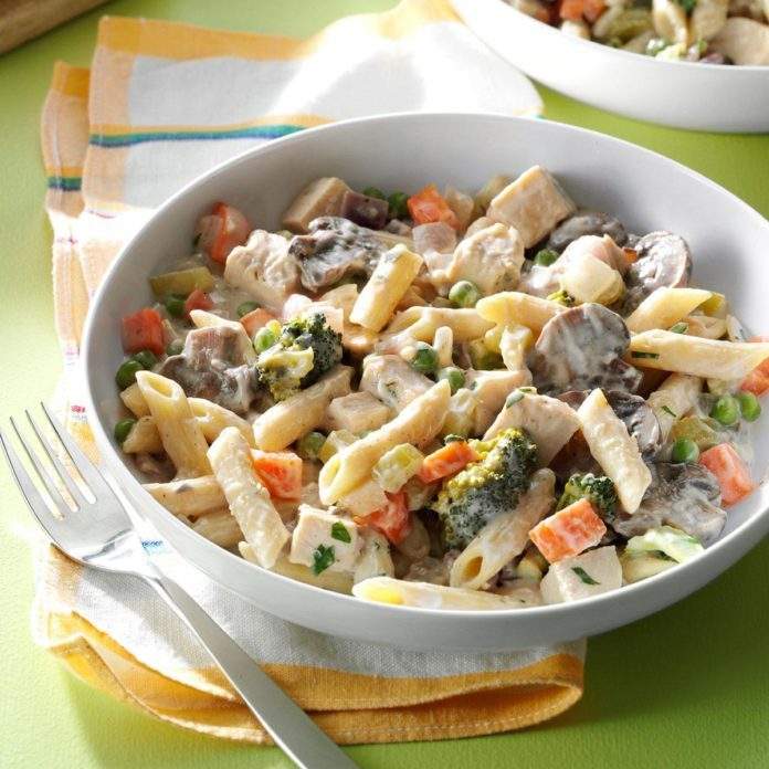 Turkey & Vegetable Pasta