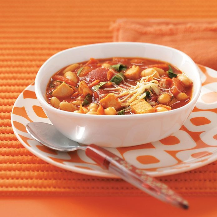 Turkey-White Bean Soup