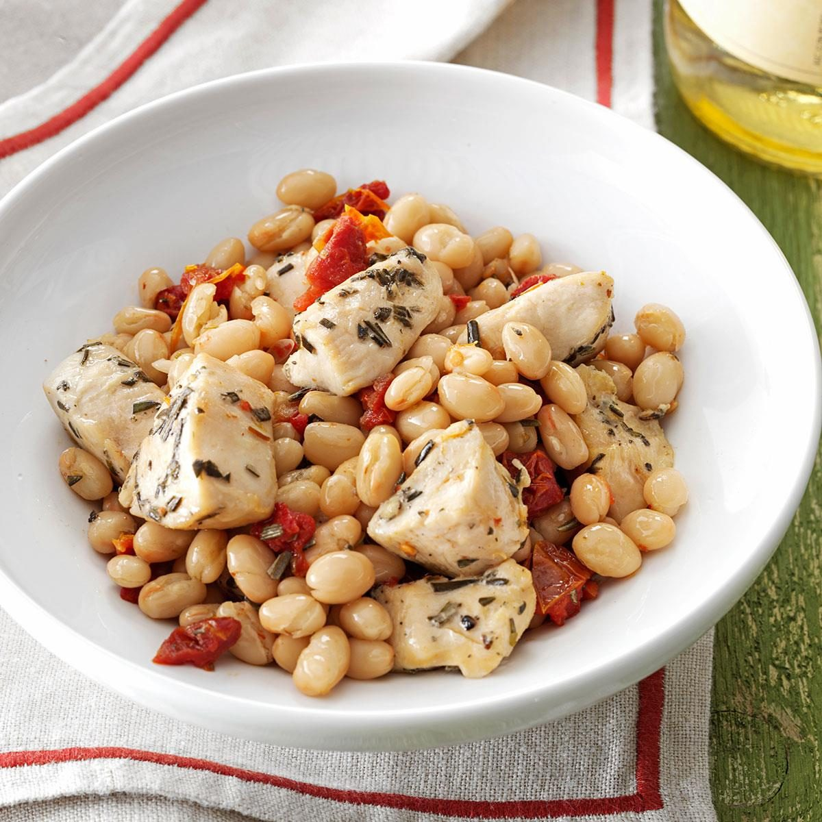 Day 30: Tuscan Chicken and Beans