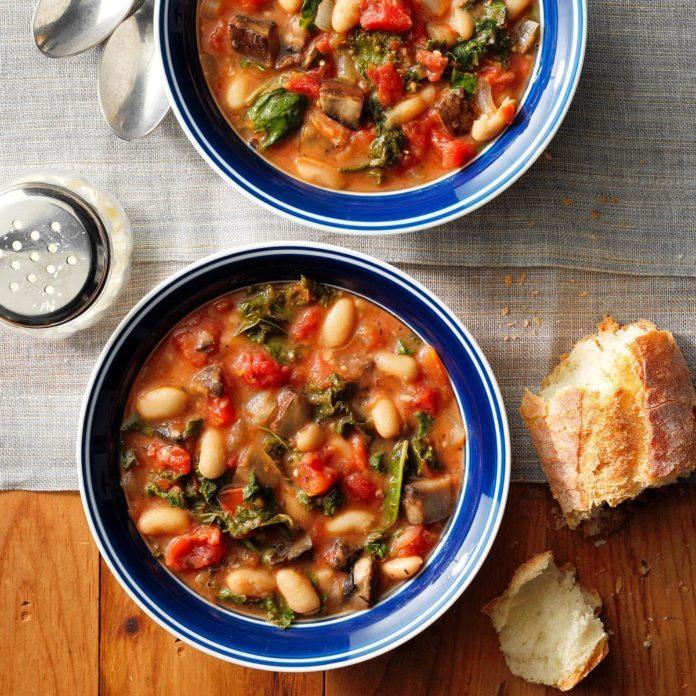 Tuscan Portobello Stew