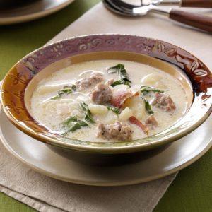 Tuscan Sausage and Potato Soup