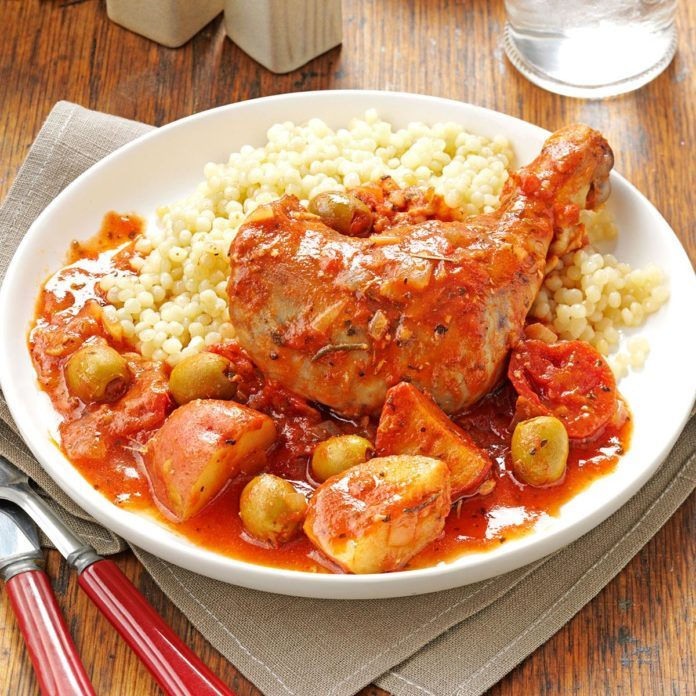 Tuscan-Style Chicken