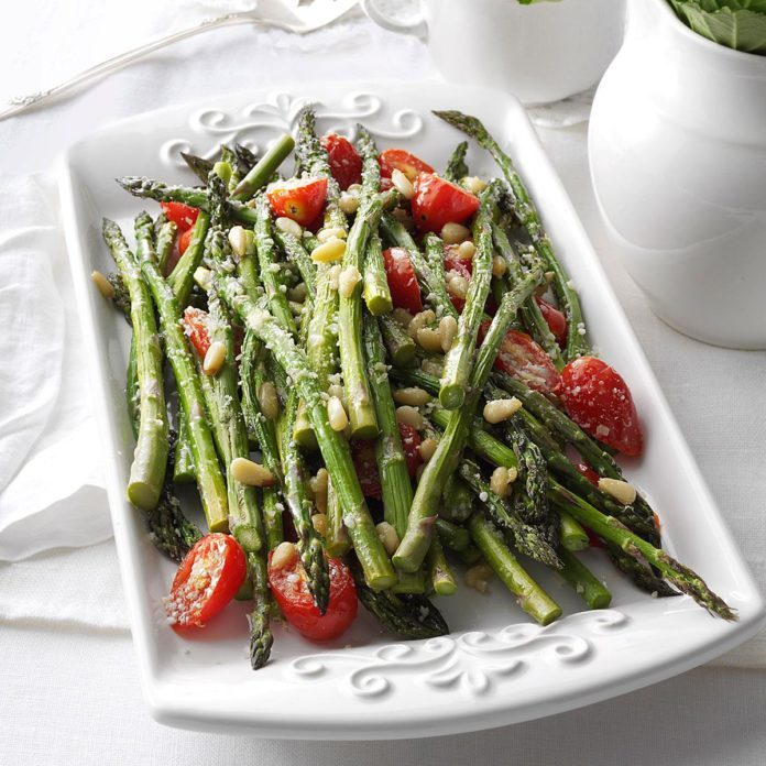 Massachusetts: Tuscan-Style Roasted Asparagus