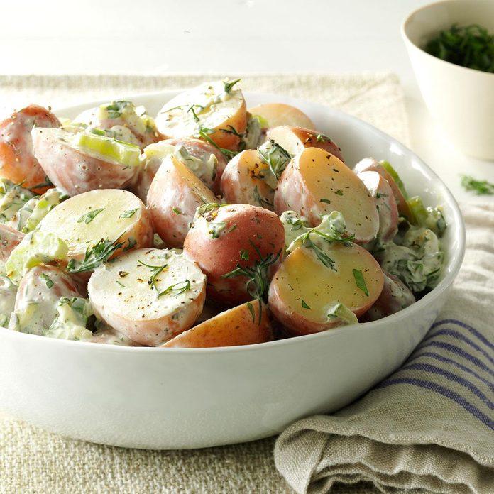 Tzatziki Potato Salad