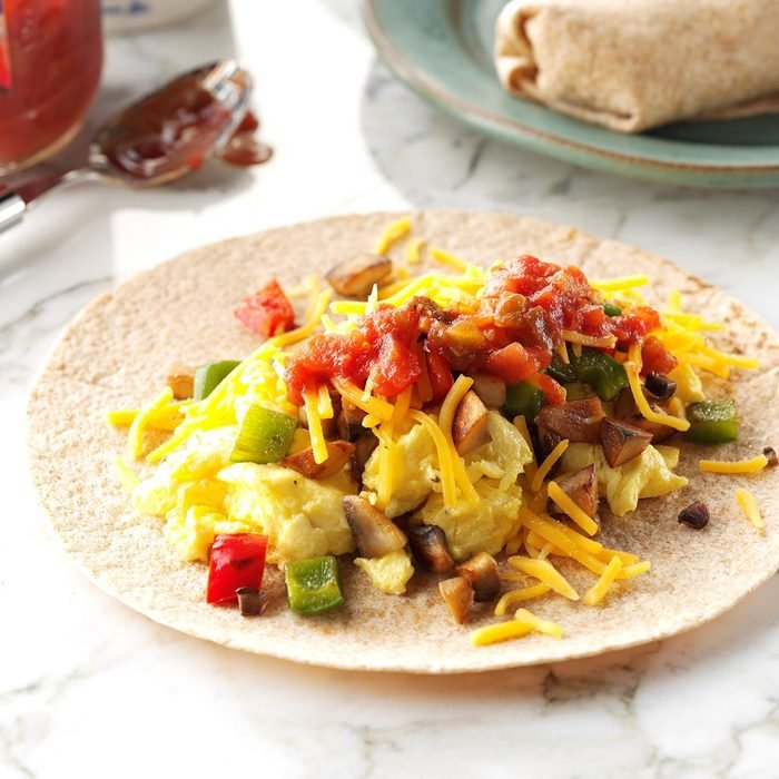 Day 5 Breakfast: Ultimate Breakfast Burritos