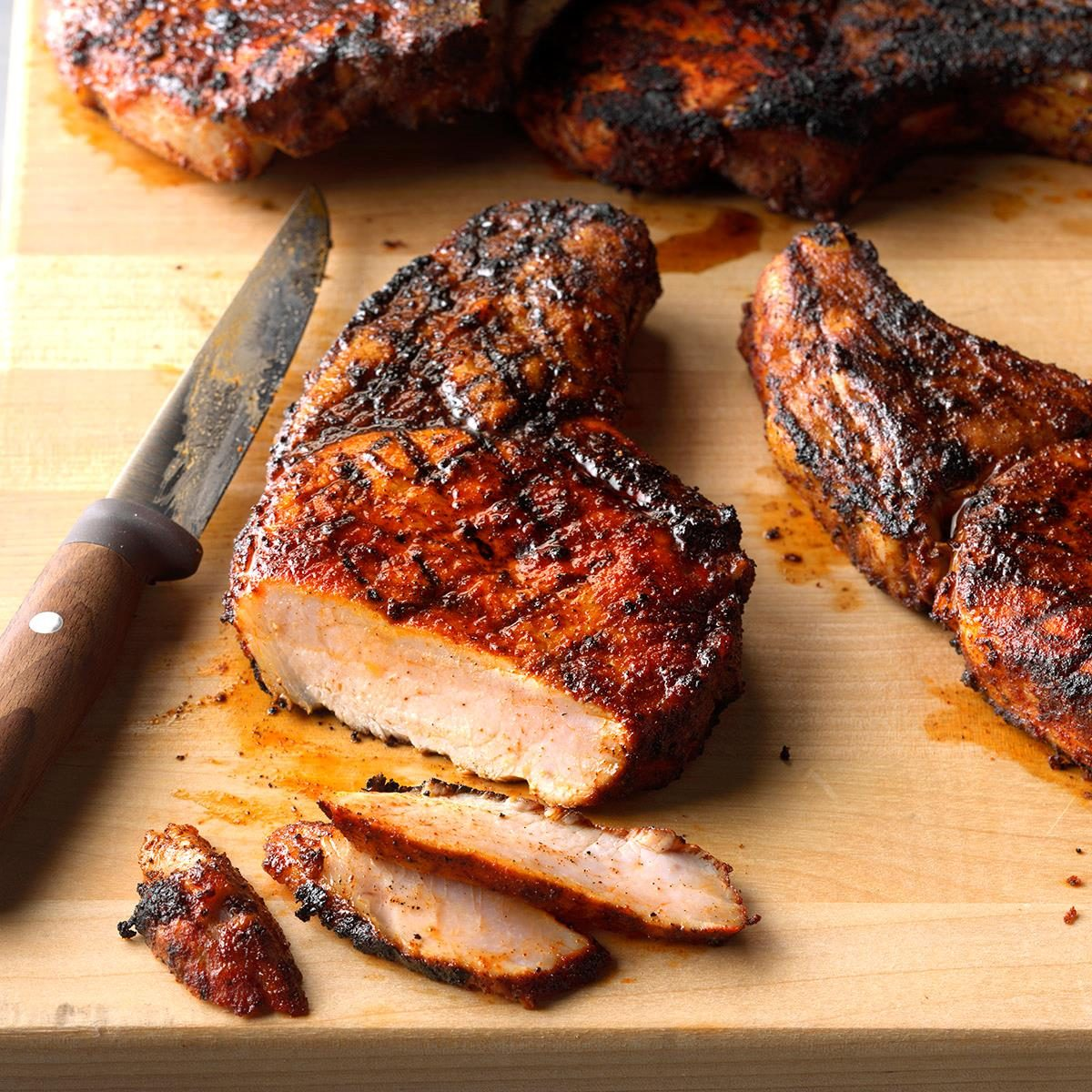 Day 27: Ultimate Grilled Pork Chops