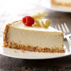 Ultimate Vanilla Cheesecake
