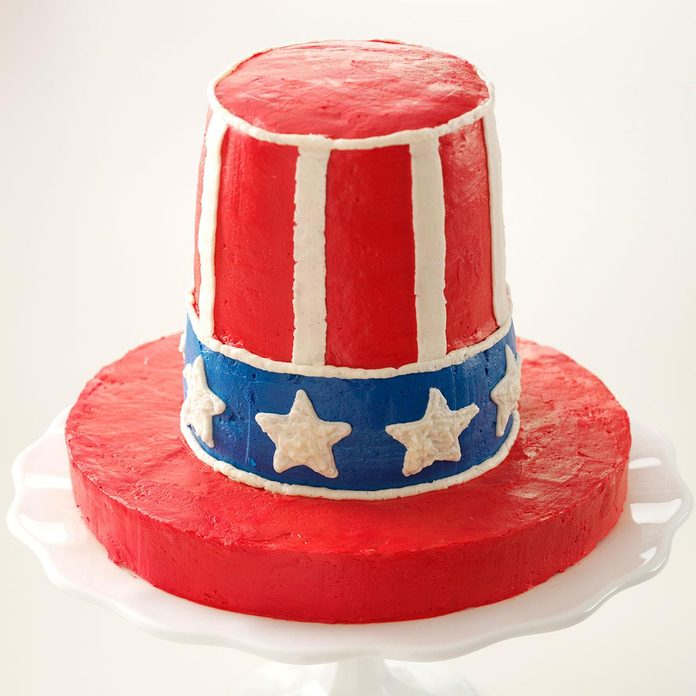 Uncle Sam's Crispy Treat Cake