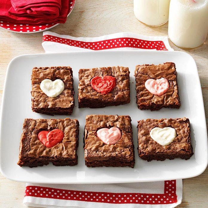 Heart Brownies