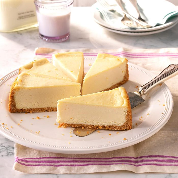 Spring Easter Lunch: Vanilla Cheesecake