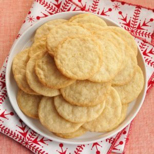 Vanilla Wafer Cookies