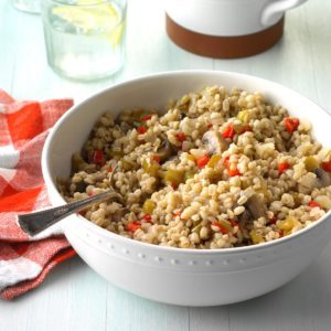 Vegetable Barley Bake