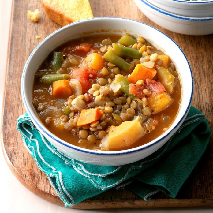 The Classic: Vegetable Lentil Soup