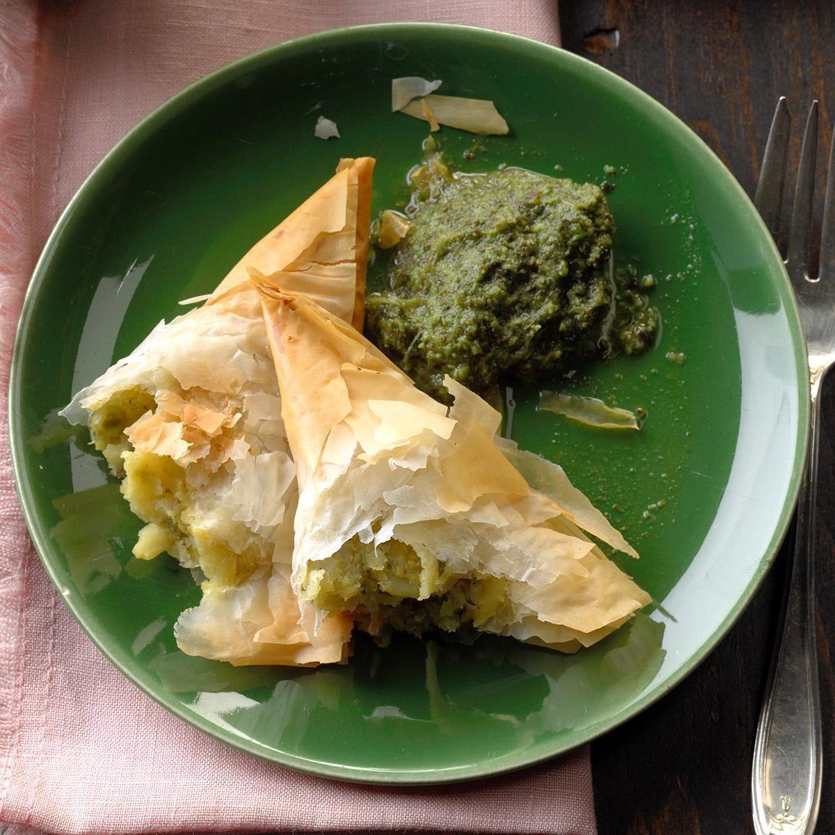 Wednesday: Vegetable Samosas