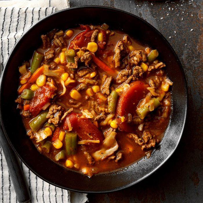 Vegetable Soup With Hamburger Exps Sscbz18 15399 B08 30 8b