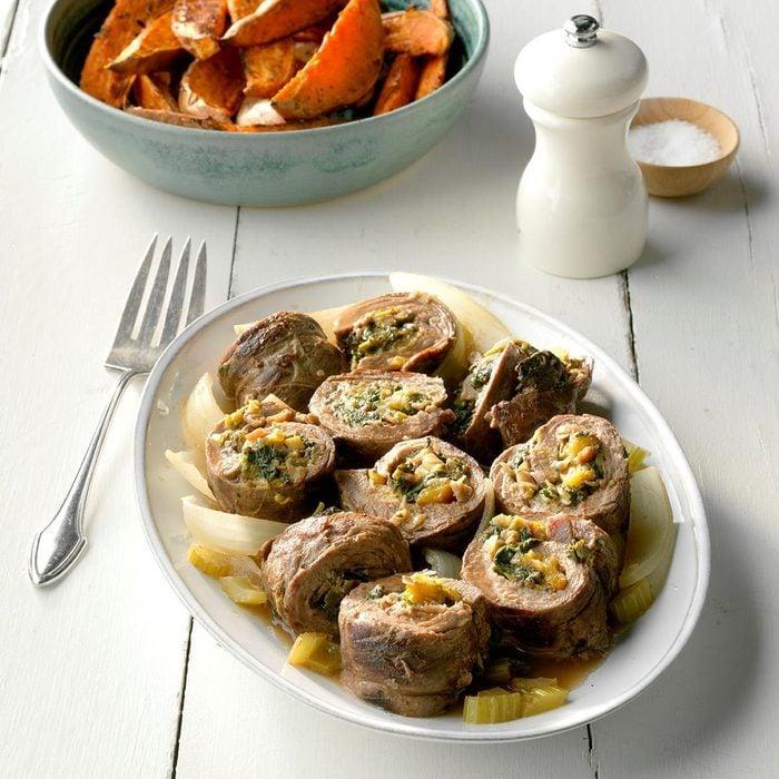 Vegetable-Stuffed Flank Steak