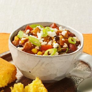 Vegetarian Chili Ole!