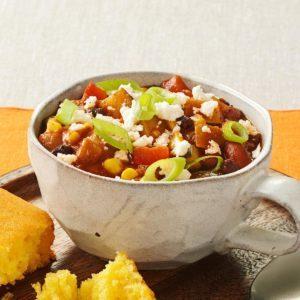 Vegetarian Chili Ole!