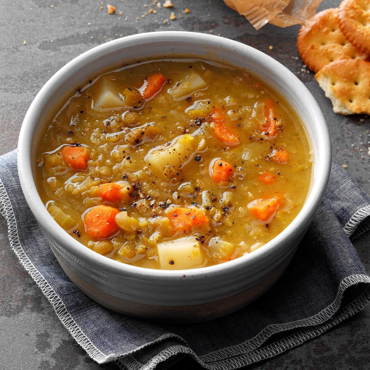 Vegetarian Pea Soup