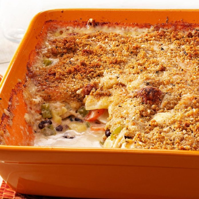 Vegetarian Potato au Gratin