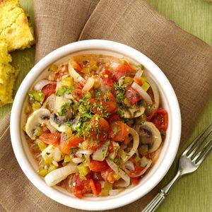 Veggie Chicken Creole