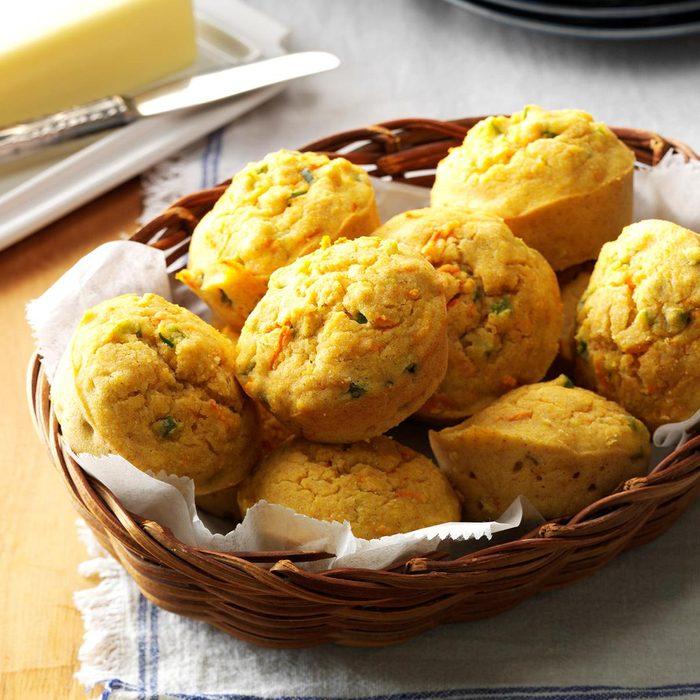 Veggie Corn Muffins