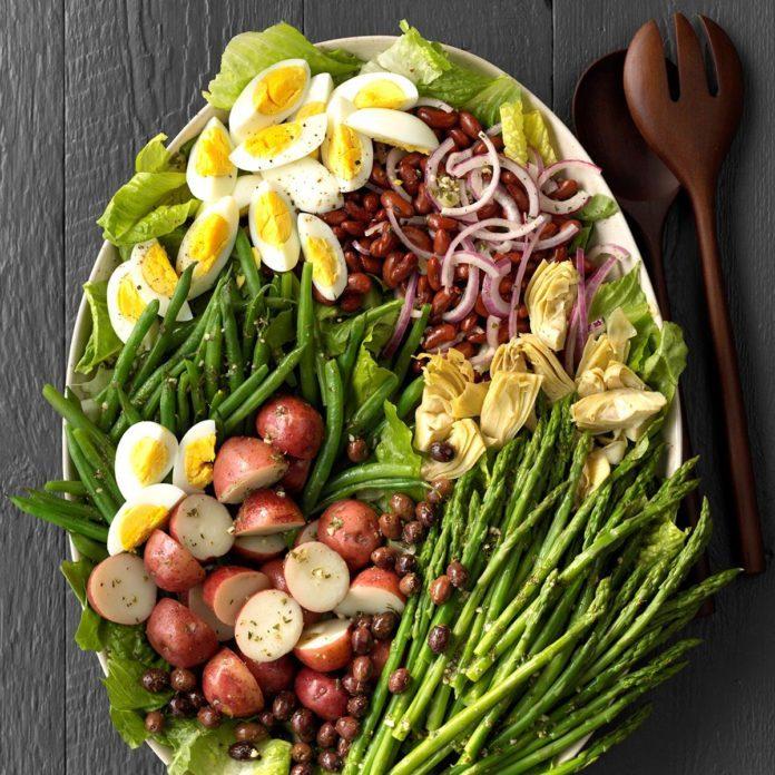 Day 15: Veggie Nicoise Salad