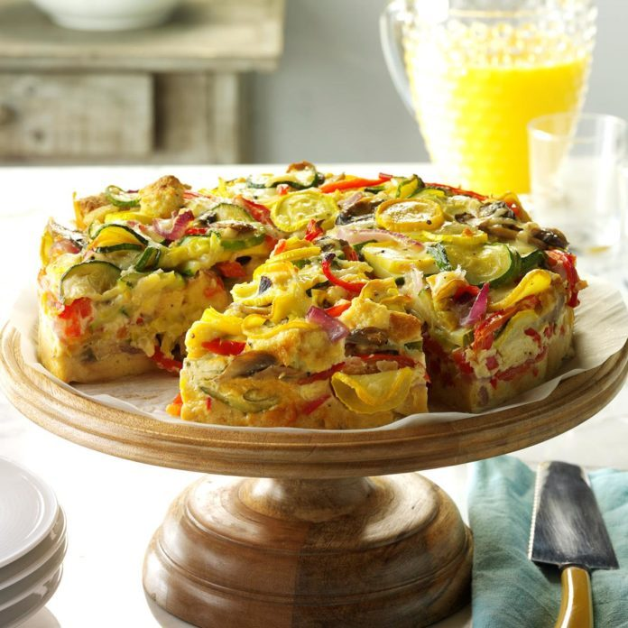 Alabama: Veggie-Packed Strata