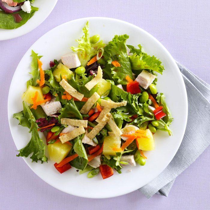 Veggie-Sesame Chicken Salad