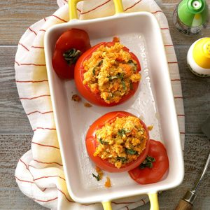 Veggie-Stuffed Tomatoes