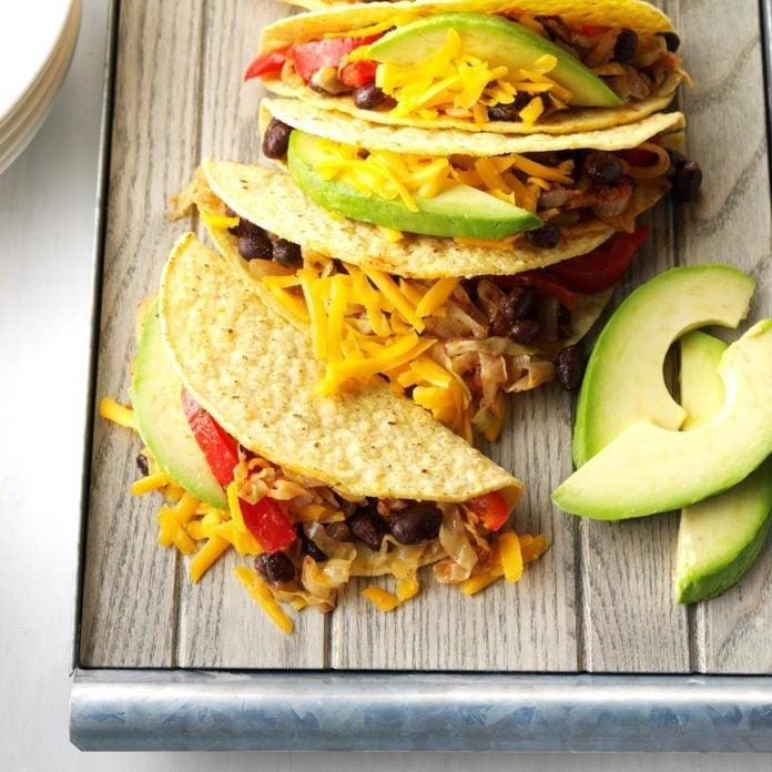 March: Veggie Tacos