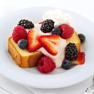 Very Berry Bruschetta