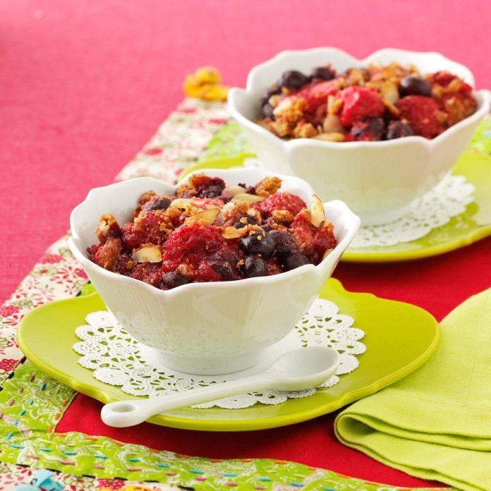 Very Berry Crisp