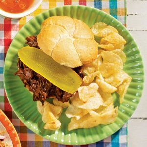 Very Best Barbecue Beef Sandwiches