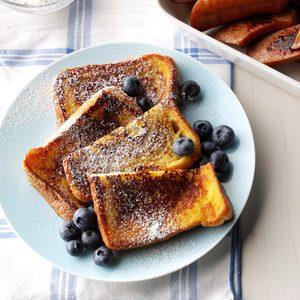 Very Vanilla French Toast