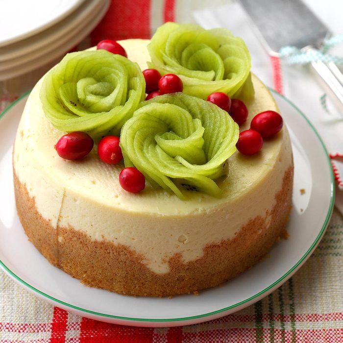 Very Vanilla Slow-Cooker Cheesecake