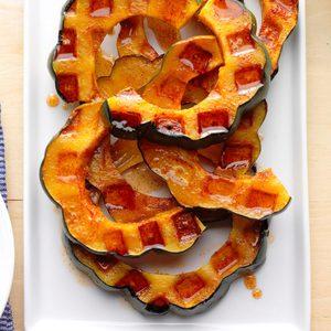 Waffle-Iron Acorn Squash