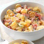 Wagon Wheel Pasta Salad