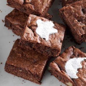 Walnut Cake Brownies