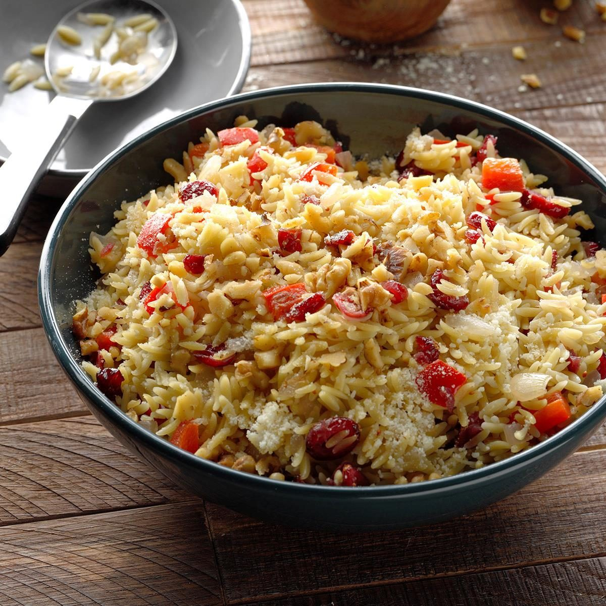 Walnut Cranberry Orzo