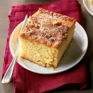 Walnut Honey Cake
