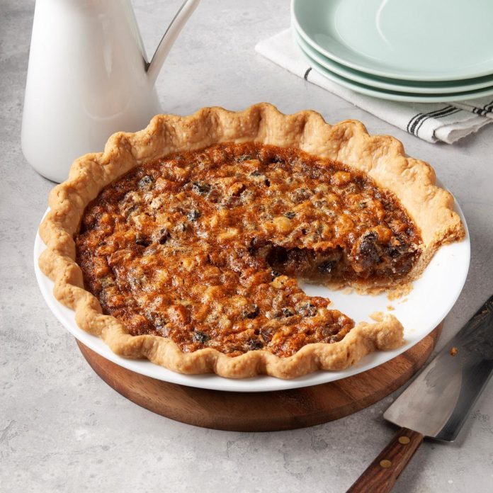 Walnut Mincemeat Pie