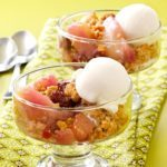 Warm Cranberry-Pear Crisp