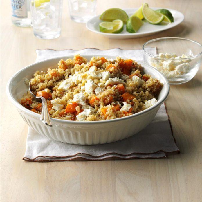 Warm Squash & Quinoa Salad