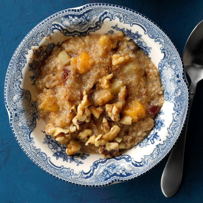 Warm 'n' Fruity Breakfast Cereal