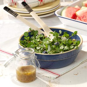 Watercress with Fennel & Berries