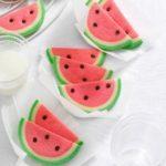 Watermelon Slice Cookies